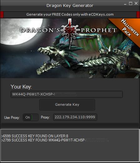 Dragon cd-key