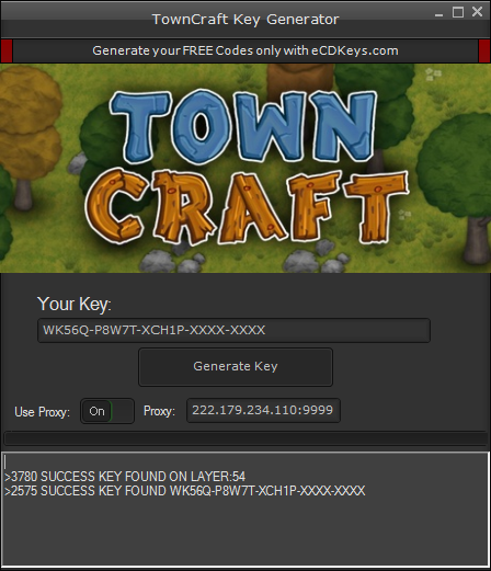 TownCraft cd-key