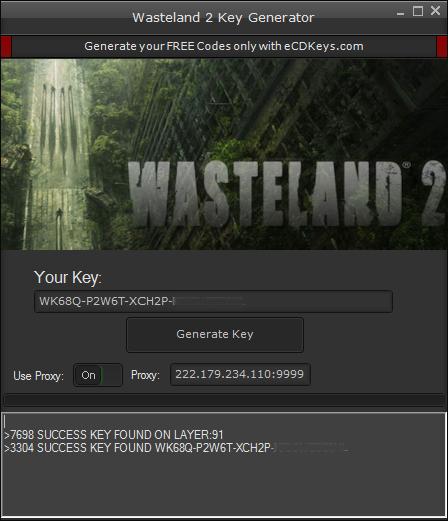 Wasteland 2 cd key