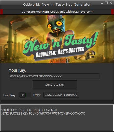 Oddworld: New 'n' Tasty cd-key
