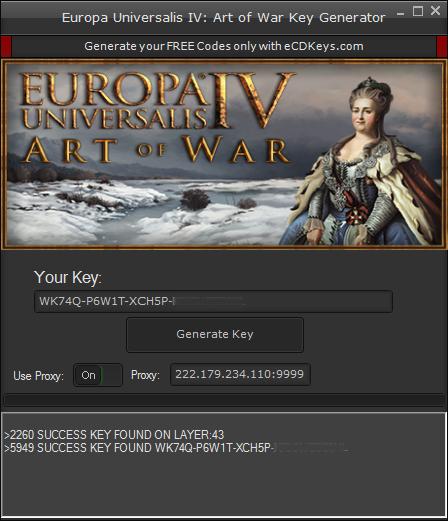 Europa Universalis IV: Art of War cd-key