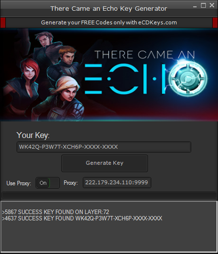 There Came an Echo cd-key