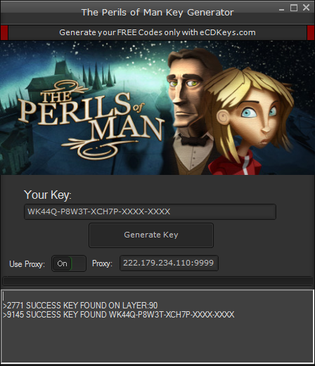 The Perils of Man cd-key