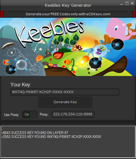 Keebles cd-key