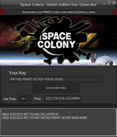 Space Colony: Steam Edition cd-key