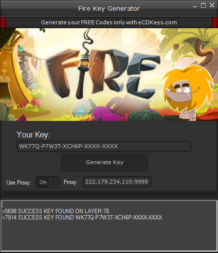 Fire cd-key