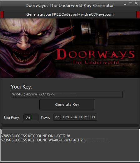 Doorways The Underworld Key Generator