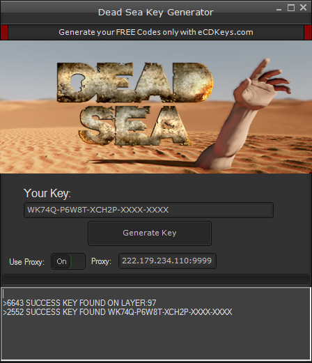 Dead Sea cd-key