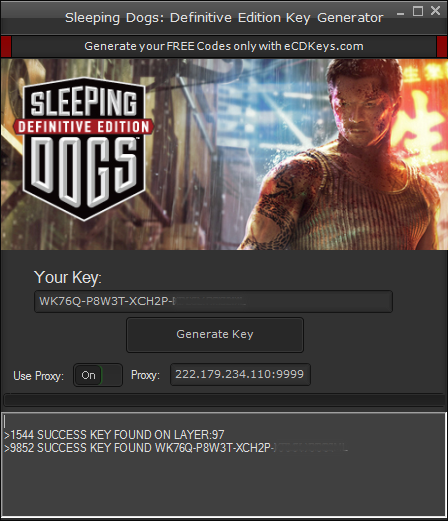 Sleeping Dogs Definitive Edition cd-key
