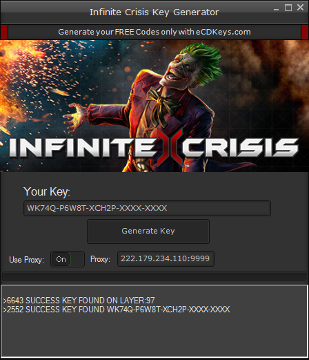 Infinite Crisis cd-key