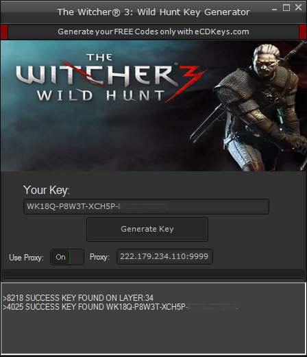 The Witcher 3: Wild Hunt cd key