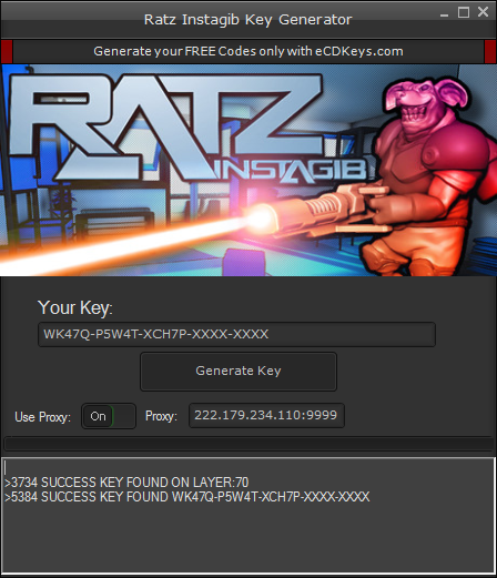 Ratz Instagib cd-key