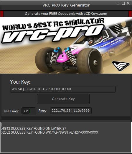 VRC PRO cd-key