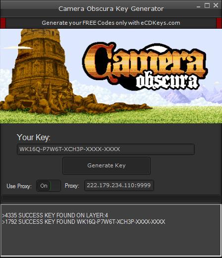Camera Obscura cd-key