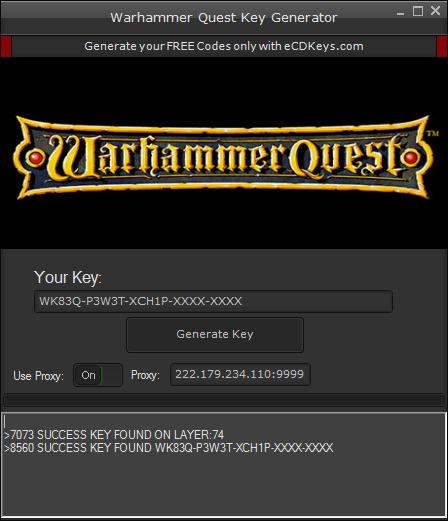 Warhammer Quest cd-key