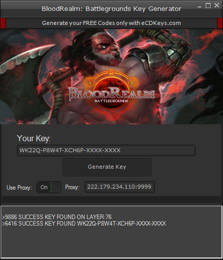 BloodRealm: Battlegrounds cd-key