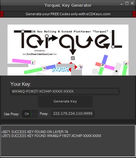 TorqueL cd-key