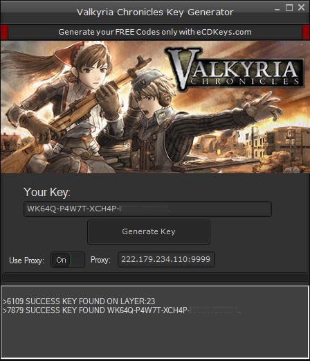 Valkyria Chronicles cd-key