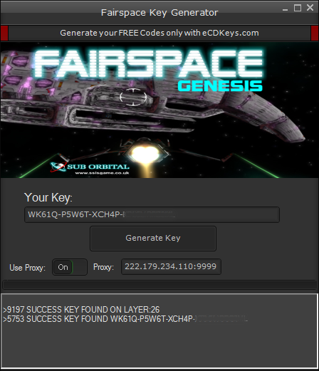 Fairspace cd-key