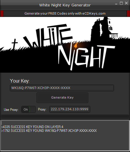 White Night cd-key