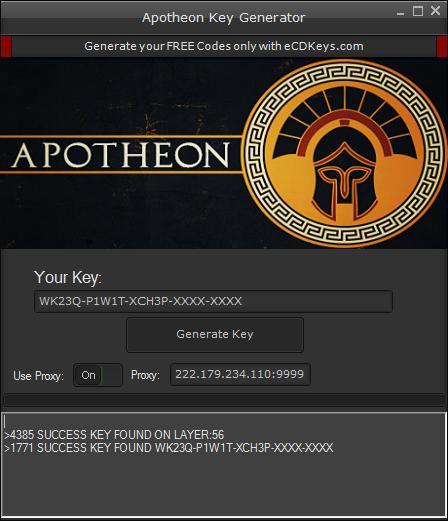 Apotheon cd-key