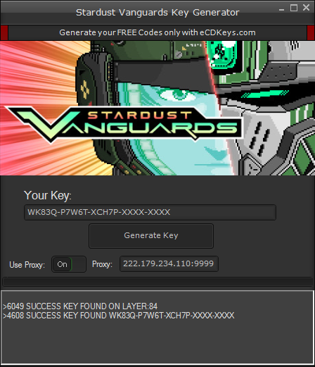 Stardust Vanguards cd-key
