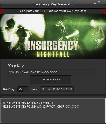 Insurgency cd-key