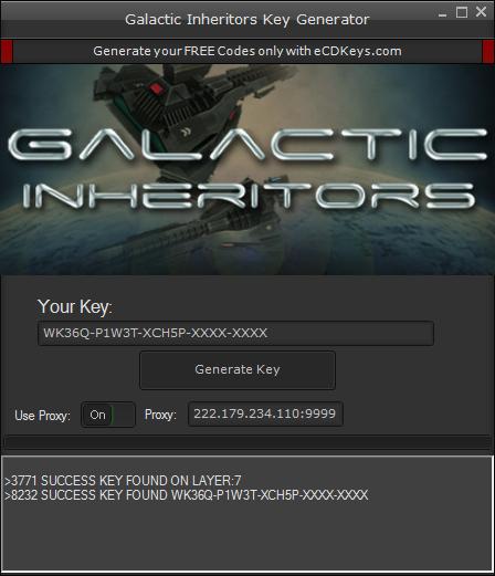 Galactic Inheritors cd-key