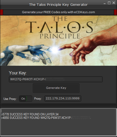 The Talos Principle cd-key