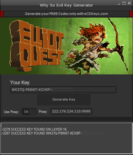 Elliot Quest cd-key