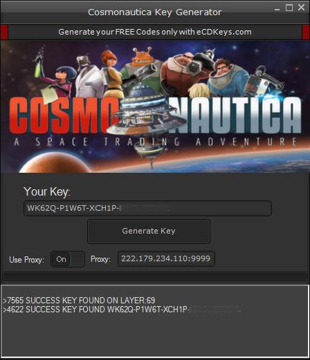 Cosmonautica cd key
