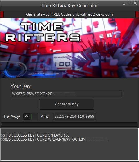 Time Rifters cd-key