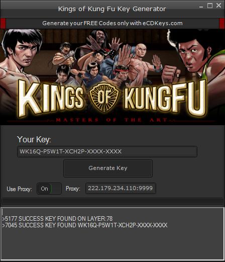 Kings of Kung Fu cd-key