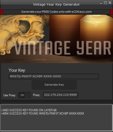 Vintage Year cd-key