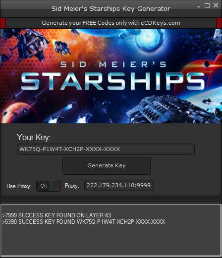 Sid Meier's Starships cd-key
