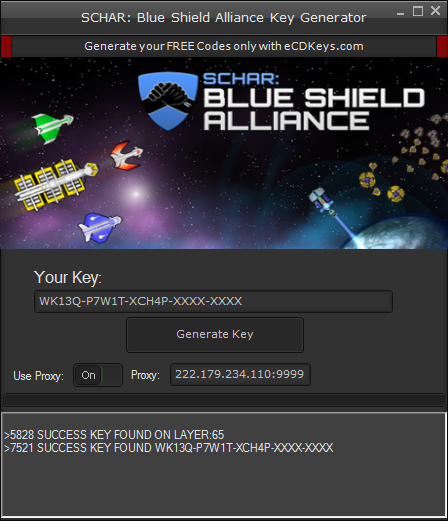 SCHAR: Blue Shield Alliance cd-key