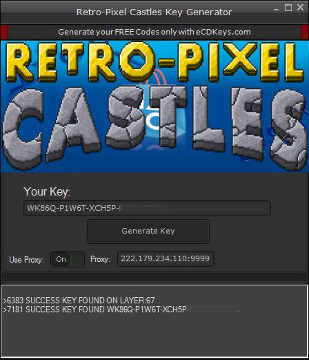Retro-Pixel Castles cd-key