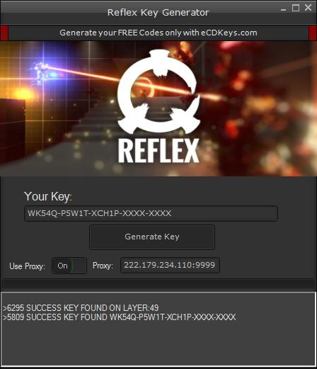 Reflex cd-key