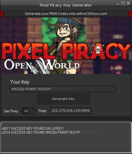 Pixel Piracy cd-key