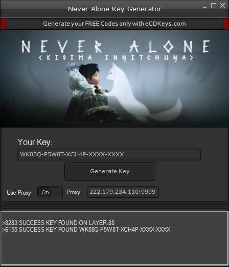 Never Alone cd-key