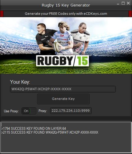 Rugby 15 cd-key