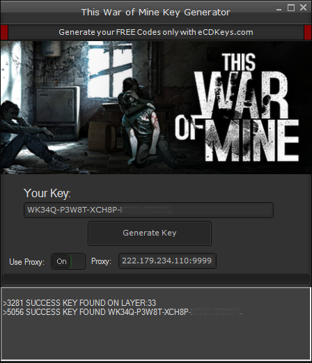 This War of Mine cd-key