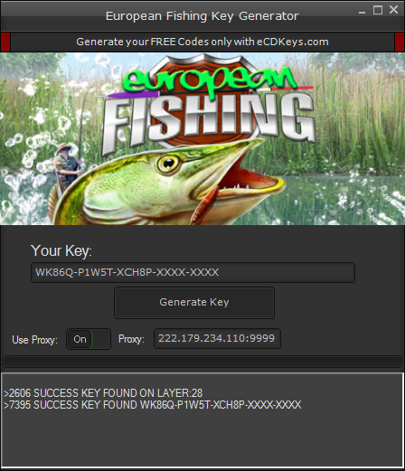 European Fishing cd-key