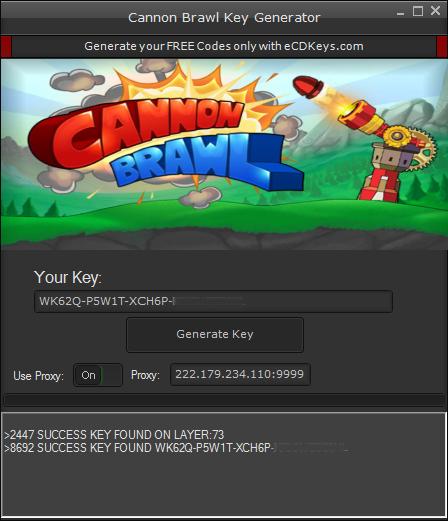 Cannon Brawl cd-key
