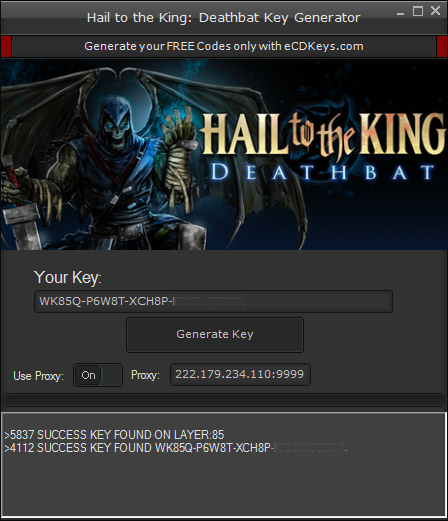 Hail to the King: Deathbat cd-key