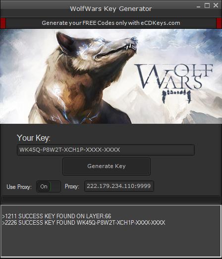 WolfWars cd-key