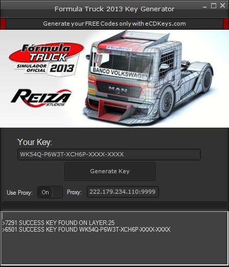 Formula Truck 2013 cd-key