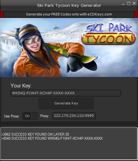 Ski Park Tycoon cd-key