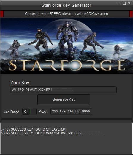 StarForge cd-key