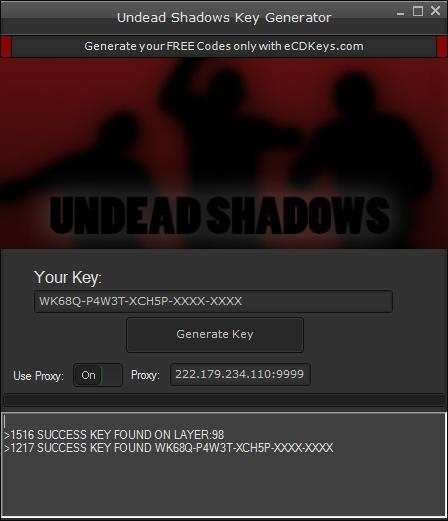 Undead Shadows cd-key